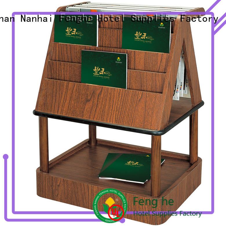 Fenghe customized newspaper display rack factory for wholesale