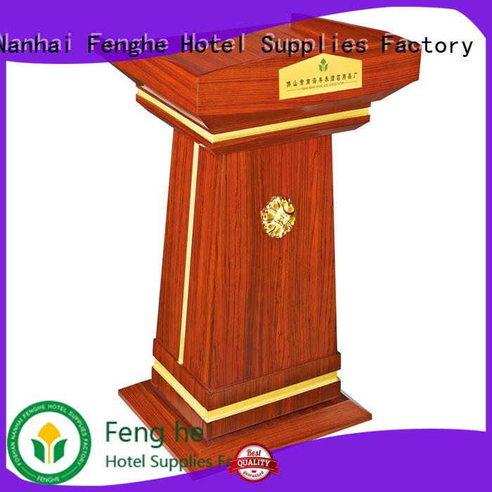 Fenghe 5 star service speaker's rostrum pedal for bankquet halls
