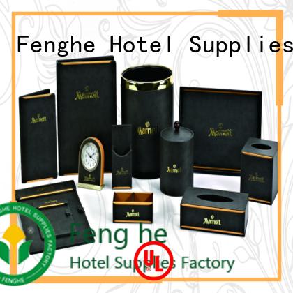 Custom customized leather folder quality Fenghe