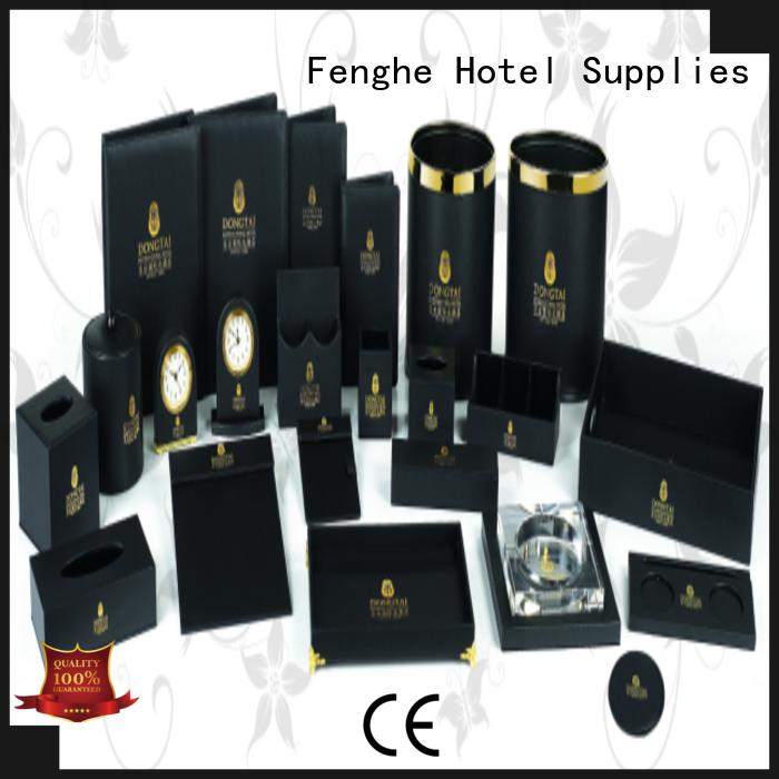 Fenghe Brand folderleather accessories holderpu leather folder manufacture