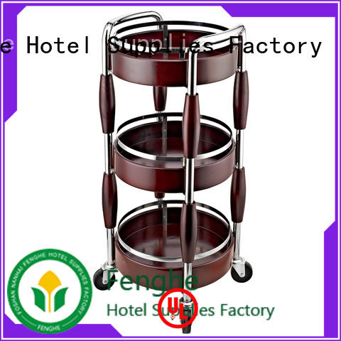 unique design liquor trolley round trader for guest house