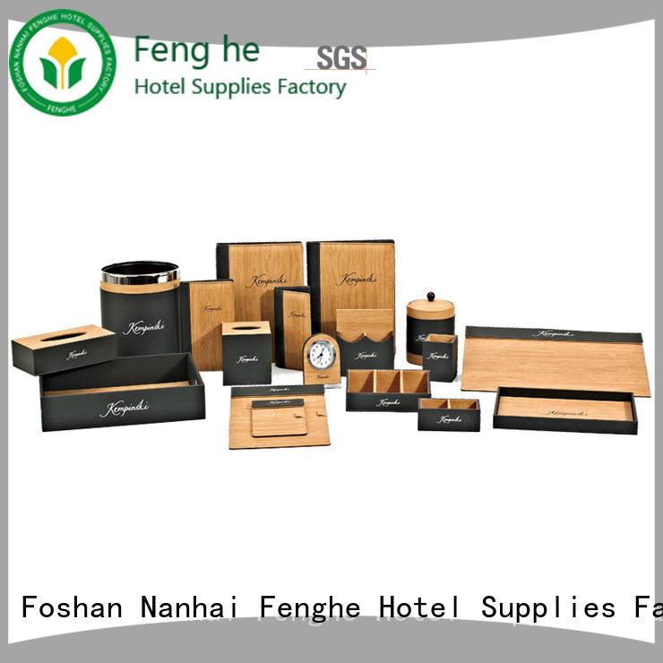 menu leather folder trader for wholesale Fenghe