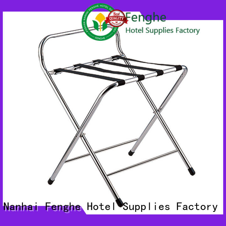 dedicated service hotel folding luggage racks solid supplier for motel