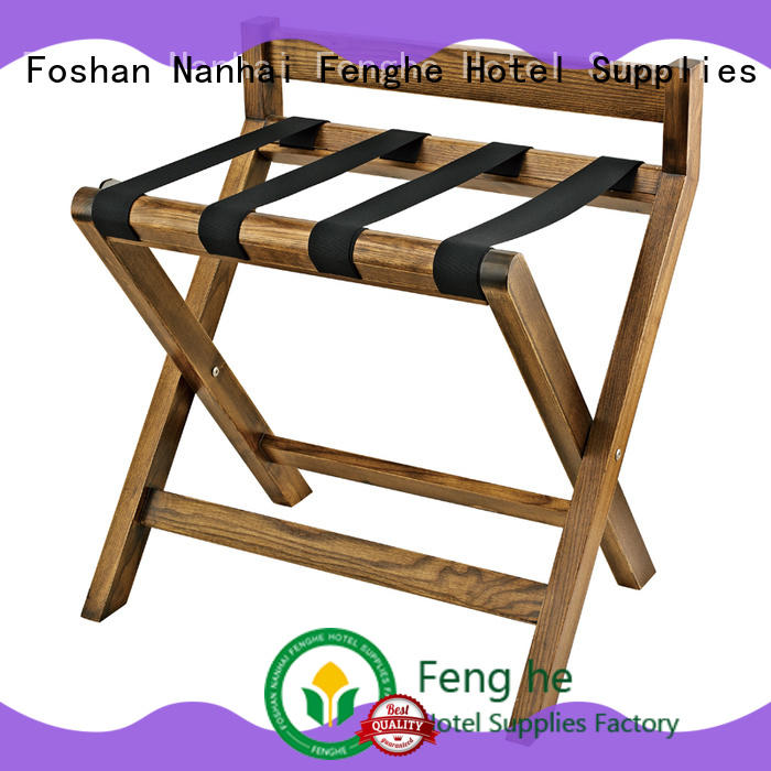 dedicated service hotel suitcase stand wood solution expert for hotel