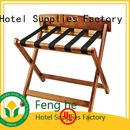 Fenghe modern hotel folding luggage racks supplier for campus