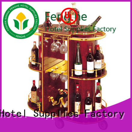 Fenghe unique design vintage drinks trolley trader for guest house