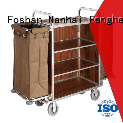 Fenghe maid hotel cleaning cart trader for hotel
