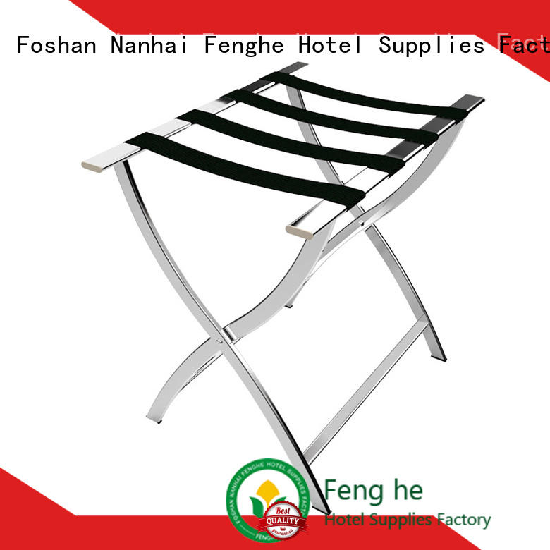 Fenghe supplies hotel room luggage holder solution expert for gym