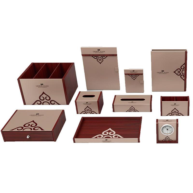 elegant leather tissue box cover holderpu leading company for hotel-2