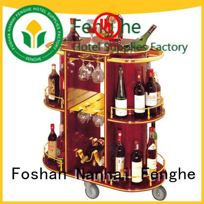 wheels drinks trolley for sale leading company for hotel Fenghe