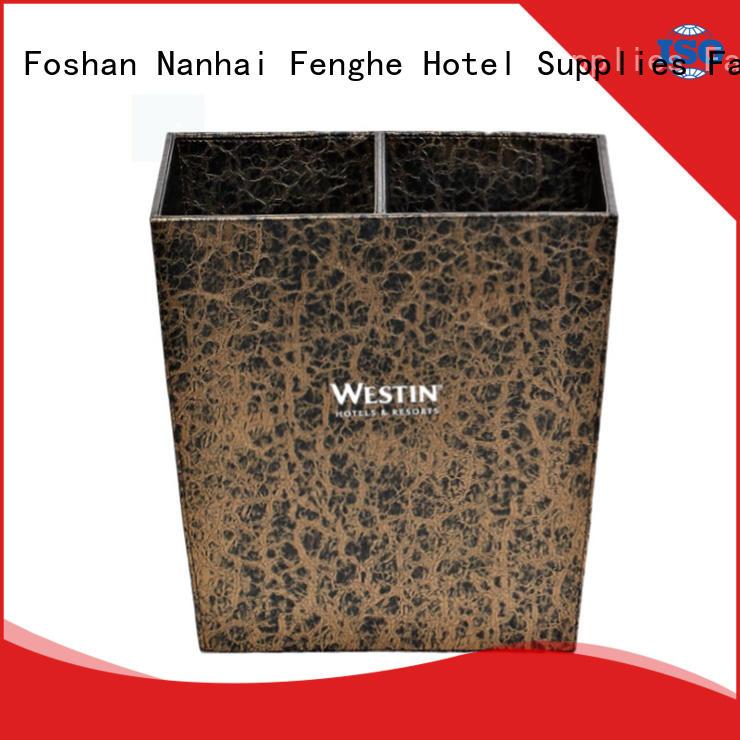 Fenghe dustbin hotel bedroom bins purchase online for hotel
