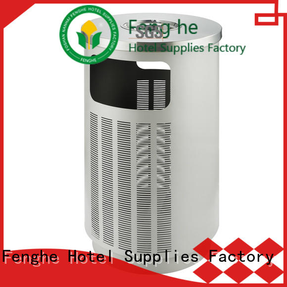 Fenghe top outdoor bin factory for lobby