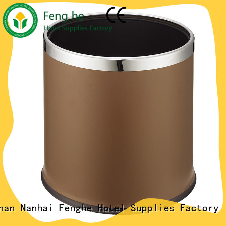 Fenghe most popular hotel room trash cans quick transaction for wholesale