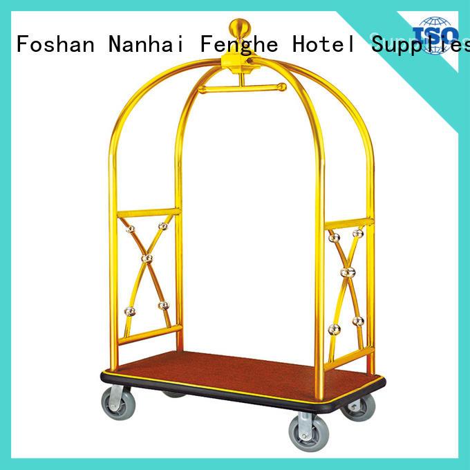 Foshan hotel style luggage cart luggage order now for motel