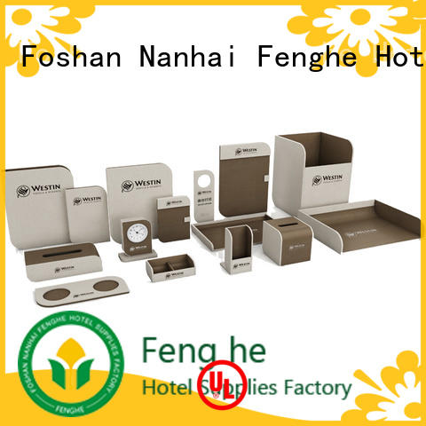 Fenghe logo hotel binder awarded supplier for wholesale