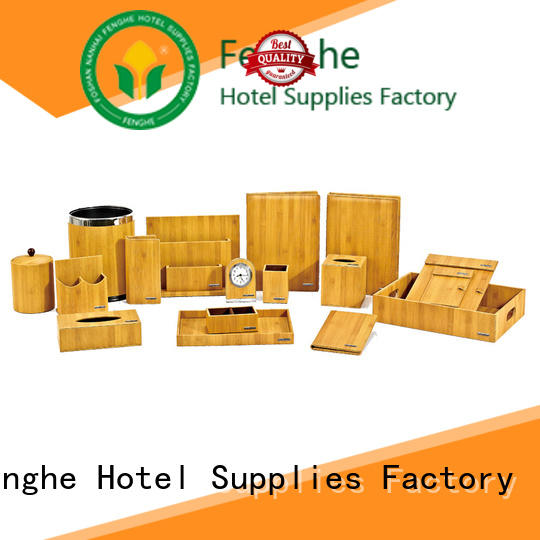 Fenghe box hotel amenity tray leading company for guest house