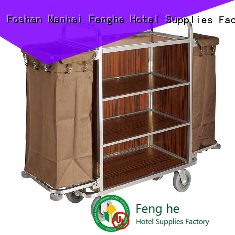 professional hotel cleaning trolley fireproof inquire now
