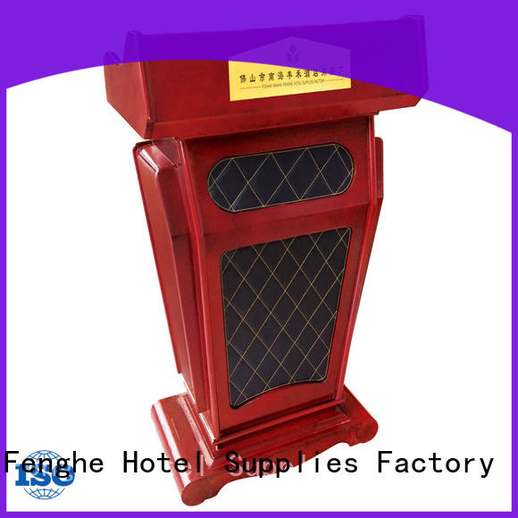 Fenghe Fenghe wooden lectern for bankquet halls