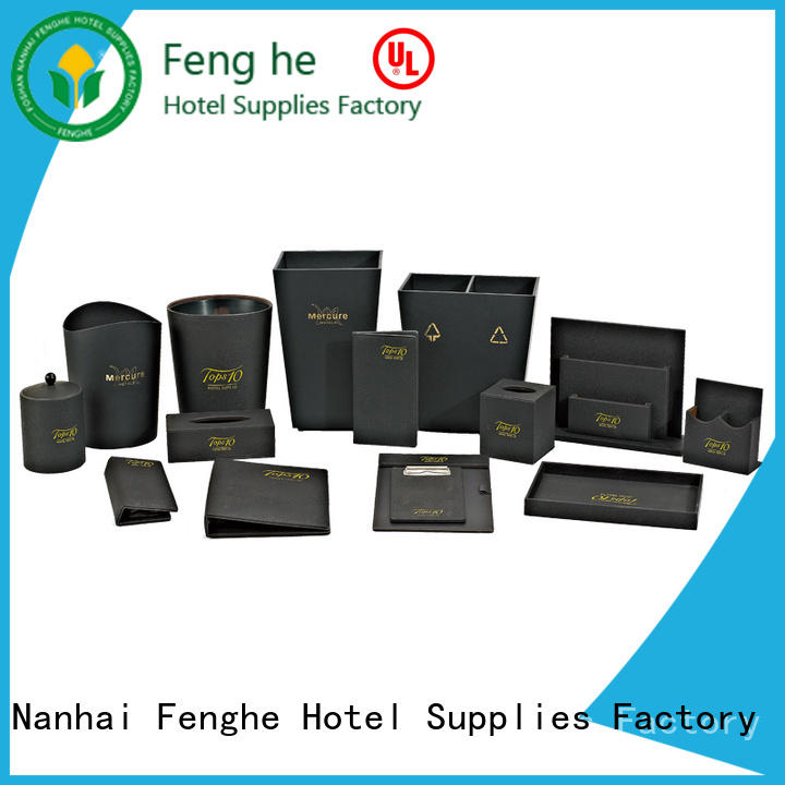 series leather document folder awarded supplier for guest house Fenghe