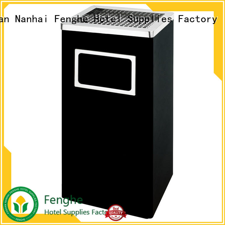 Fenghe China ashtray bin get latest price for hotel