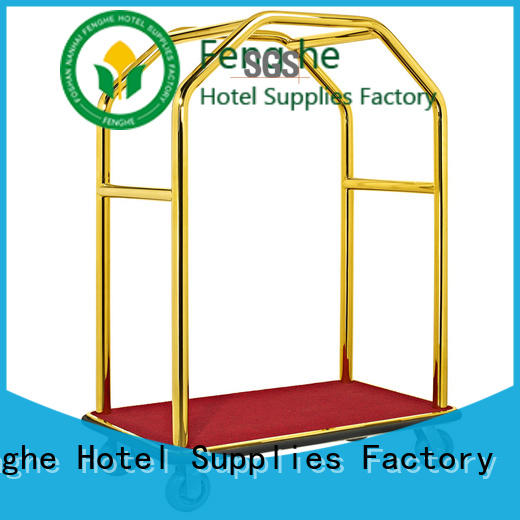 Fenghe xl07 vintage hotel luggage cart source now for motel