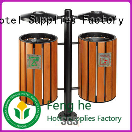 Fenghe deluxe outdoor trash can chinese manufacturer for public house