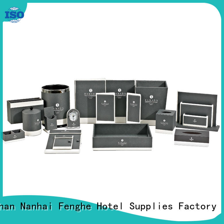 elegant leather folder restaurant leading company for hotel