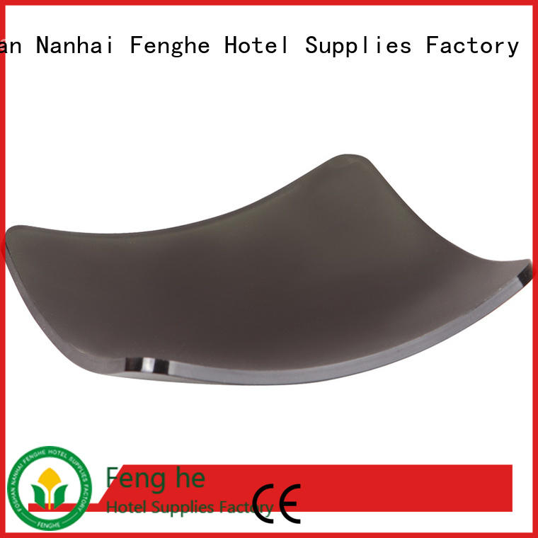 Fenghe high reliability acrylic amenity tray box for retailing business