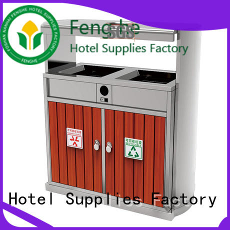 dedicated service outdoor trash bin factory for hotel Fenghe