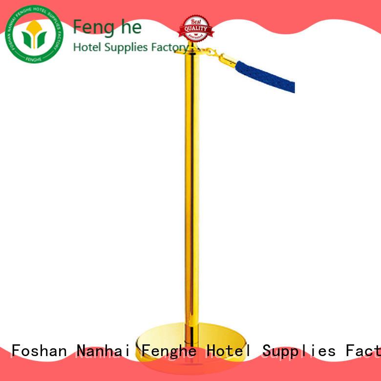 Fenghe metal velvet rope barrier manufacturer for sale