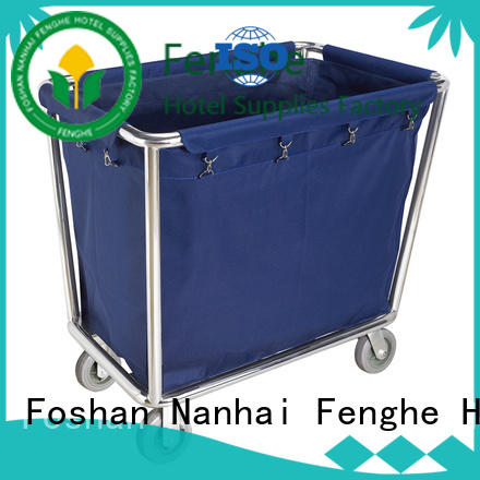 Fenghe maids hotel housekeeping maid cart trolley trader for hotel