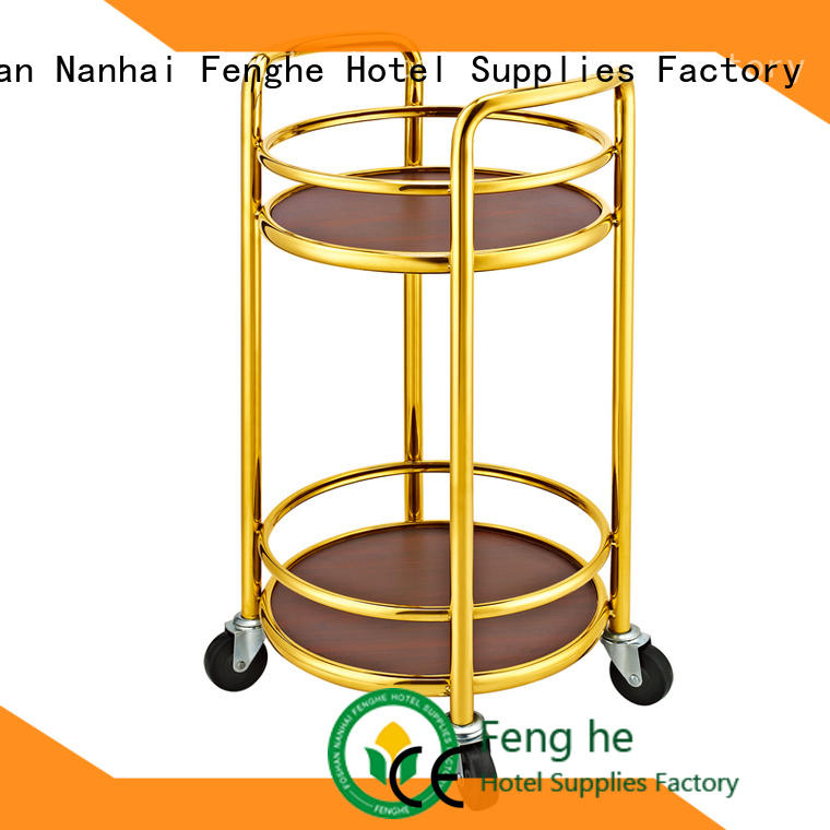 Fenghe serving liquor trolley leading company for hotel