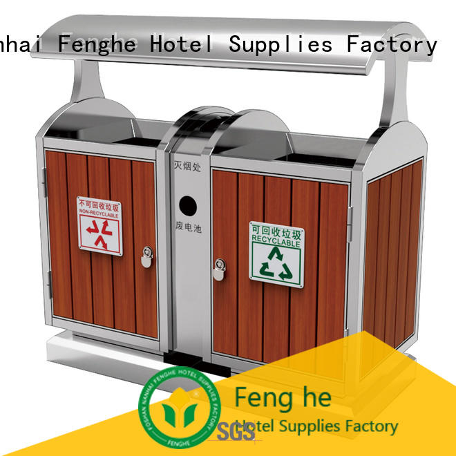 dedicated service outdoor trash can waste factory for hotel