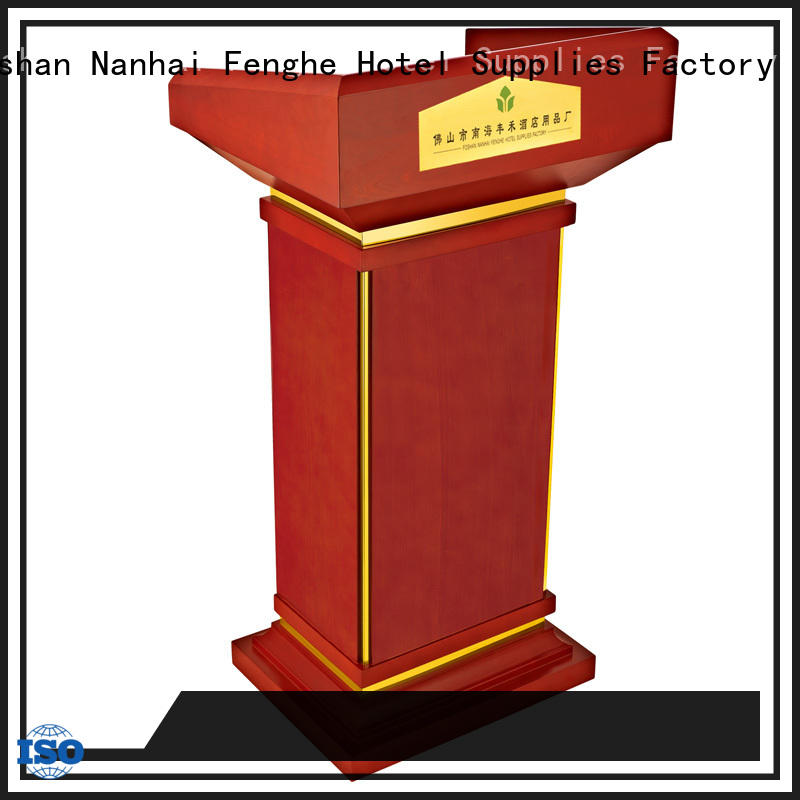low moq pulpit size manufacturer for trade show