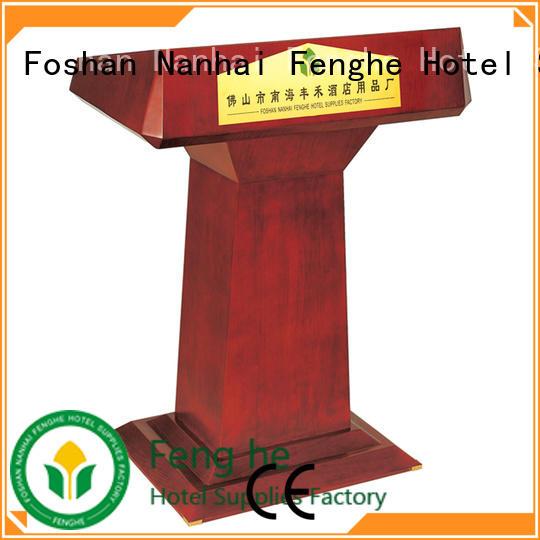 5 star service rostrum stand design manufacturer for seminars