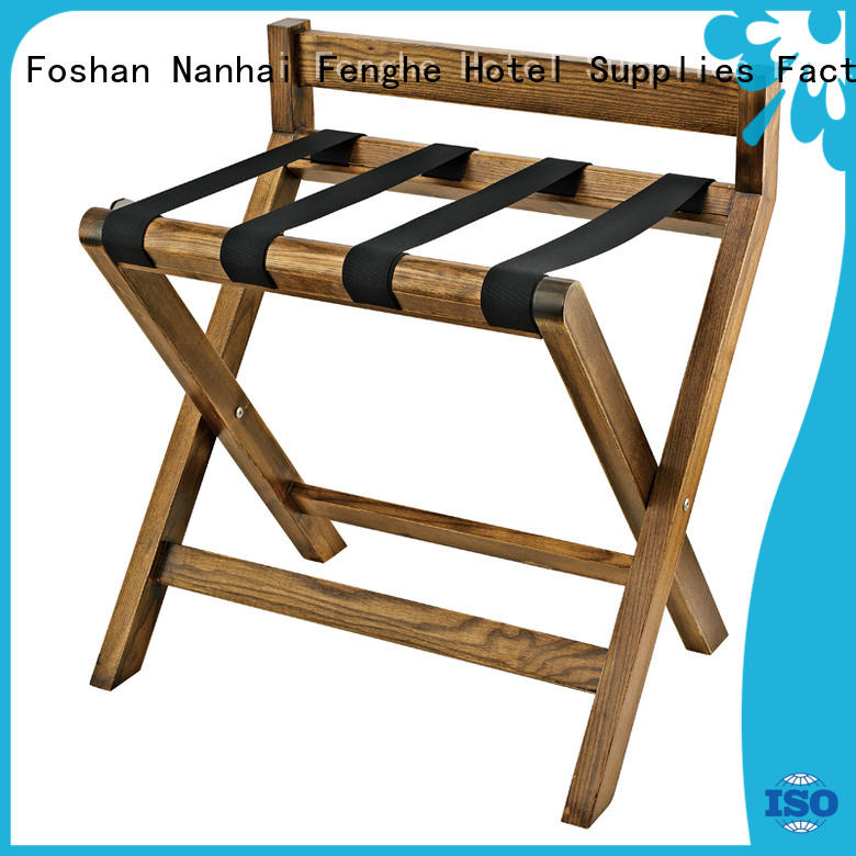Fenghe dedicated service hotel folding luggage racks supplier for gym