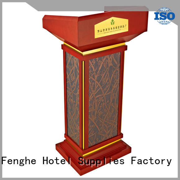 Fenghe rostrum pulpit factory for churches