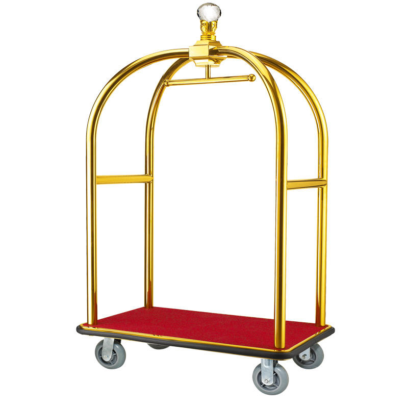 Fenghe high reliability bellman cart overseas trader for hotel-1