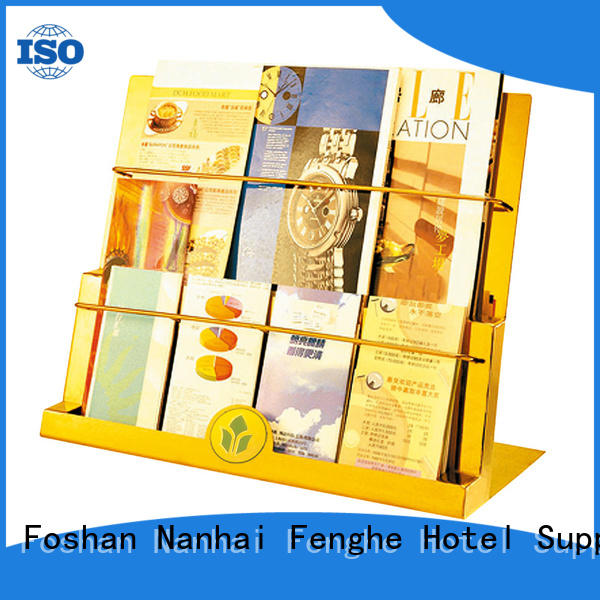 Fenghe brown newspaper stand quick transaction for wholesale