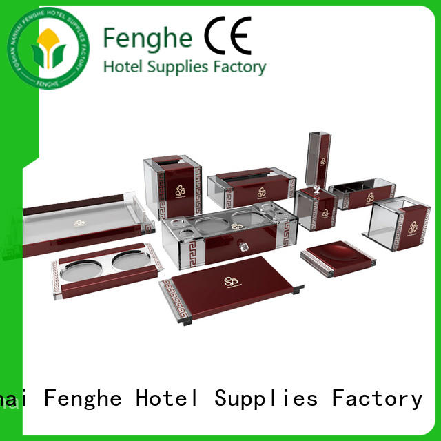 Fenghe standard white acrylic tray quick transaction for hotel