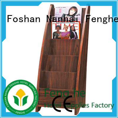 Fenghe most popular newspaper display rack factory for importer