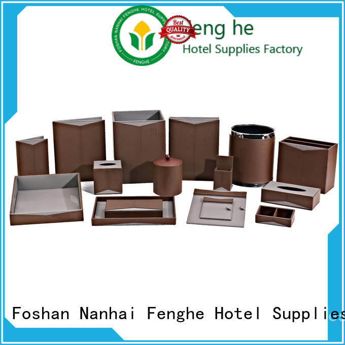 Fenghe amenities leather folder awarded supplier for wholesale