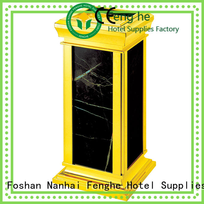 Fenghe tray ash bin overseas market for guest rooms