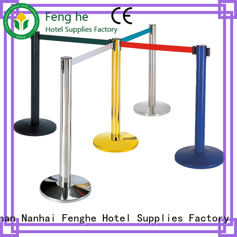 hot recommended barrier stand golden manufacturer for wholesale