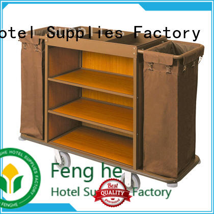 Fenghe professional maid trolley metal for importer