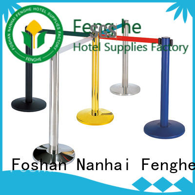 new stanchion rope manufacturer for hotel Fenghe