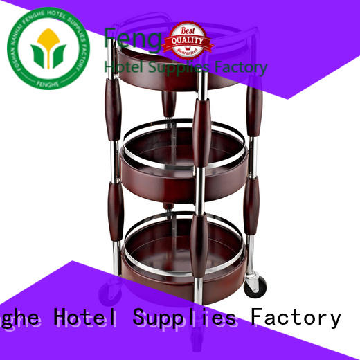 Fenghe new liquor cart leading company for hotel