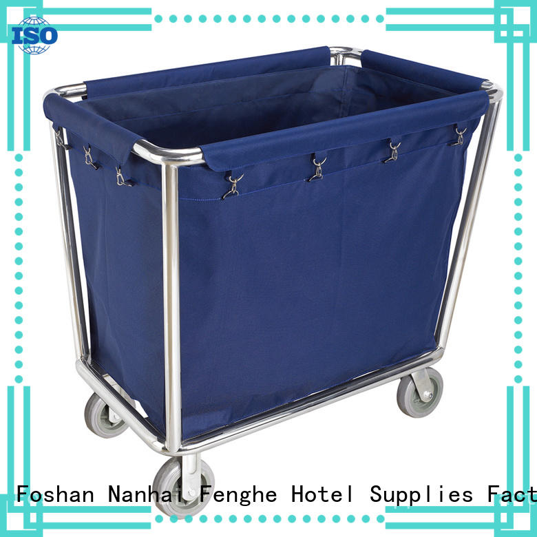 Fenghe maids hotel housekeeping trolley factory for wholesale