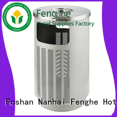 Fenghe outside outdoor bin chinese manufacturer for lobby