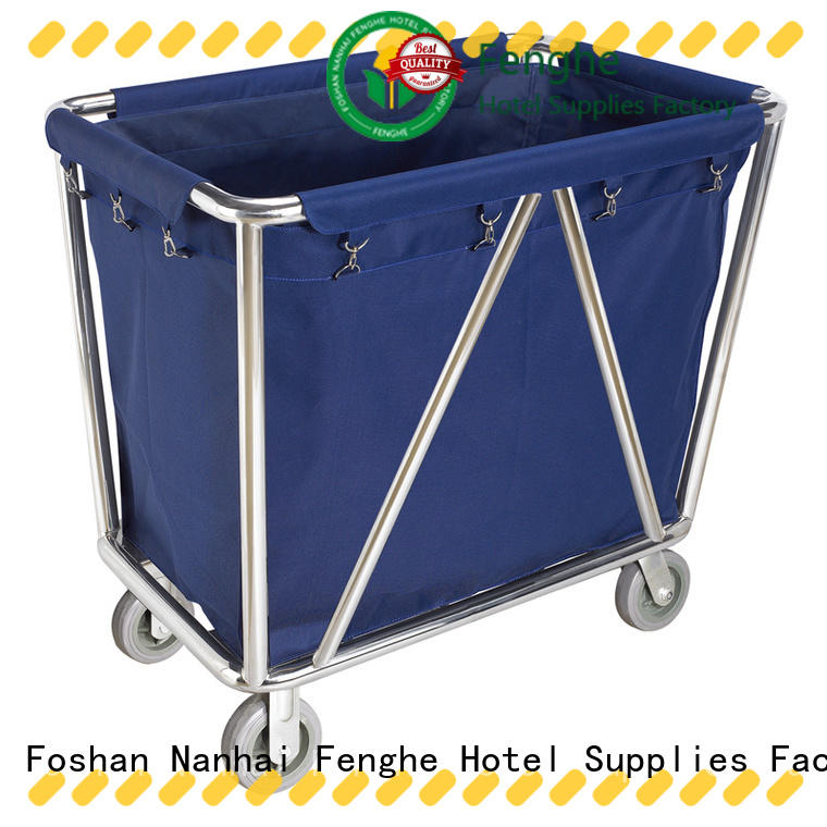 Fenghe modern maid trolley hotel factory for importer